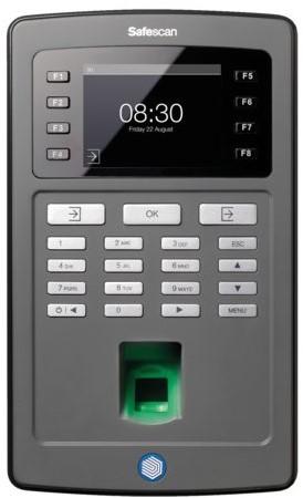 Tijdregistratiesysteem Safescan TA-8020 zwart