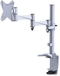Flatscreenarm Newstar D1330 klem voor 1 schem zilver