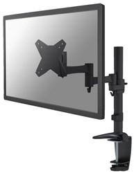 Flatscreenarm Newstar D1330 klem voor 1 scherm zwart