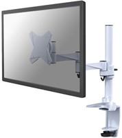 Flatscreenarm Newstar D1330 klem voor 1 scherm wit