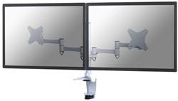 Flatscreenarm Newstar D1330D klem voor 2 schermen wit