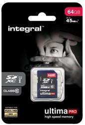 Geheugenkaart Integral SDHC class10 64GB