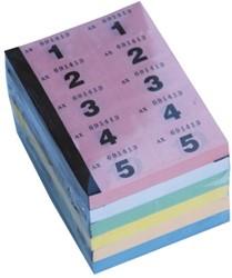 Nummerblok Combicraft 1-1000 assorti