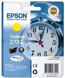 Inkcartridge Epson 27XL T271440 geel HC
