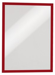 Duraframe Durable 486803 magnetisch A3 rood
