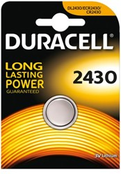 Batterij Duracell knoopcel 2430 lithium
