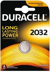Batterij Duracell knoopcel 2032 lithium