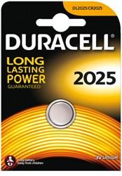 Batterij Duracell knoopcel 2025 lithium