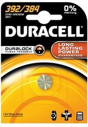 Batterij Duracell knoopcel 392 alkaline