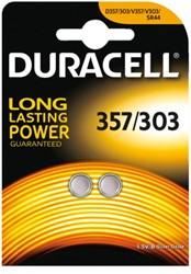 Batterij Duracell knoopcel 357H zilver oxide