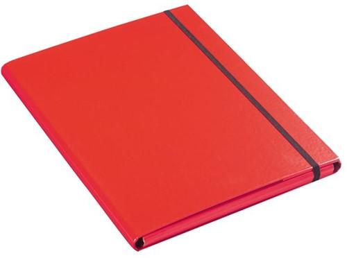 Elastomap Klapr A4 10mm rood