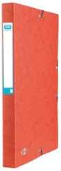 Elastobox Elba A4 25mm met rugetiket rood