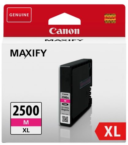 Inkcartridge Canon PGI-2500XL rood HC