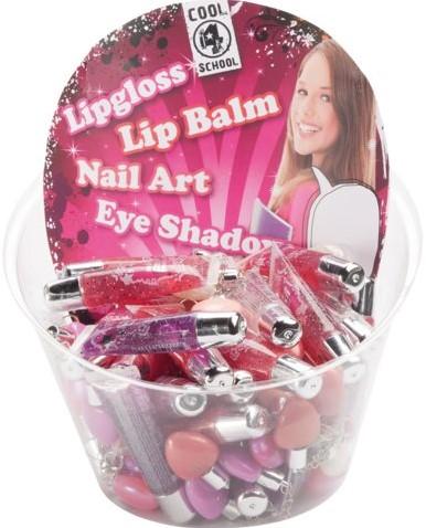 Lipgloss met lipshimmer hartje 42stuks assorti-2