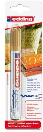 Viltstift edding 4000 decomarker rond goud 2-4mm