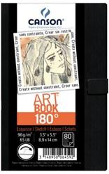Tekenblok Canson Art 84x140mm 180graden 96gram 80vel