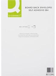 Envelop Q-Connect bordrug EB4 262X371 120gr zelfklevend wit