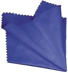 Reiniger Hama microvezeldoek 20x20cm blauw