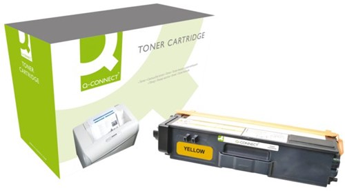 Tonercartridge Q-Connect Brother TN-325 geel