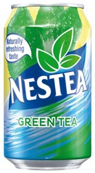 Frisdrank Nestea Green blikje 0.33l