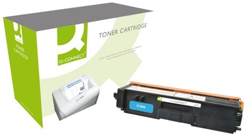 Tonercartridge Q-Connect Brother TN-320 blauw