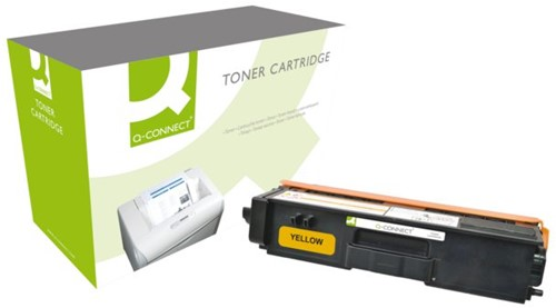 Tonercartridge Q-Connect Brother TN-320 geel