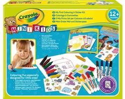 Kleur en sticker Crayola minikids 29-delig