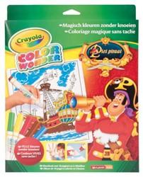 Kleur box Crayola Color Wonder Piet Piraat