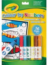 Kleurboek Crayola nummer
