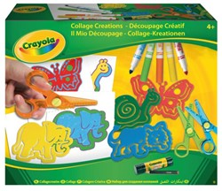 Collagecreatie Crayola dieren
