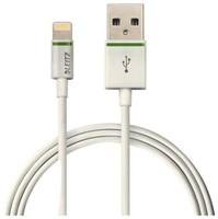 Oplaadkabel Leitz Complete Lightning-USB 30cm wit