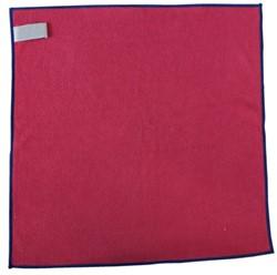 Microvezeldoek professional rood 38x38cm 10 stuks