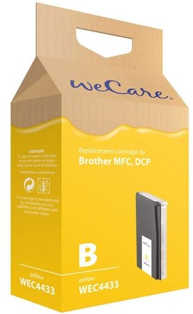 Inkcartridge Wecare Brother LC-1000 LC-970 geel