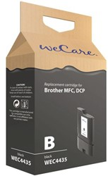 Inkcartridge Wecare Brother LC-1100 LC-980 zwart