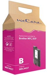 Inkcartridge Wecare Brother LC-1100 LC-980 rood