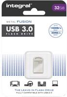 USB-Stick 3.0 Intergal FD Metal Fusion 32GB