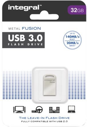USB-Stick 3.0 Intergal FD Metal Fusion 32GB