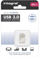 USB-Stick 3.0 Intergal FD Metal Fusion 64GB
