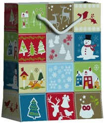 Cadeautas Hoomark a  winter's day formaat L