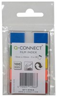 Indextabs Q-Connect 20x50mm assorti