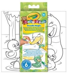 Kleurboek Crayola Minikids Magic
