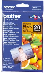 Fotopapier Brother BP-71 10x15cm 260gr glossy 20vel