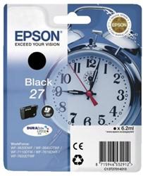 Inkcartridge Epson 27 T270140 zwart