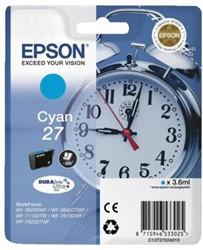 Inkcartridge Epson 27 T270240 blauw
