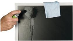 Reiniger Q-Connect beeldscherm microvezeldoek + spray 25ml