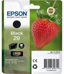 Inkcartridge Epson 29 T298140 zwart