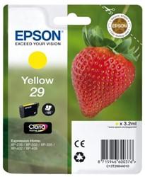 Inkcartridge Epson 29 T298440 geel