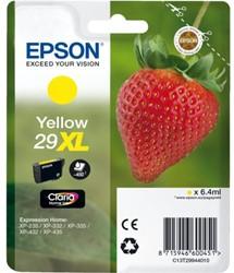 Inkcartridge Epson 29XL T299440 geel HC