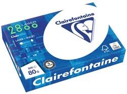 Kopieerpapier Clairfontaine laser A4 80gr wit 500vel