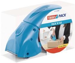 Plakbandhouder Tesa Pack 'N Go blauw